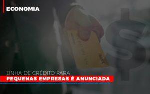Linha De Credito Para Pequenas Para Pequenas Empresas E Anunciada Contabilidade - Contabilidade em Itaperuçu- Ribas Contabilidade