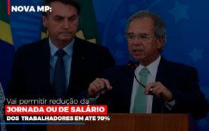 Nova Mp Vai Permitir Reducao De Jornada Ou De Salarios Contabilidade - Contabilidade em Itaperuçu- Ribas Contabilidade