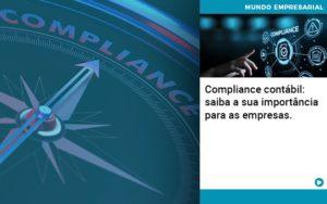 Compliance Contabil Saiba A Sua Importancia Para As Empresas - Contabilidade em Itaperuçu- Ribas Contabilidade