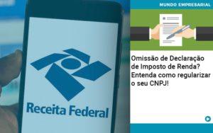 Omissao De Declaracao De Imposto De Renda Entenda Como Regularizar O Seu Cnpj - Contabilidade em Itaperuçu- Ribas Contabilidade